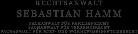 Rechtsanwalt Sebastian Hamm